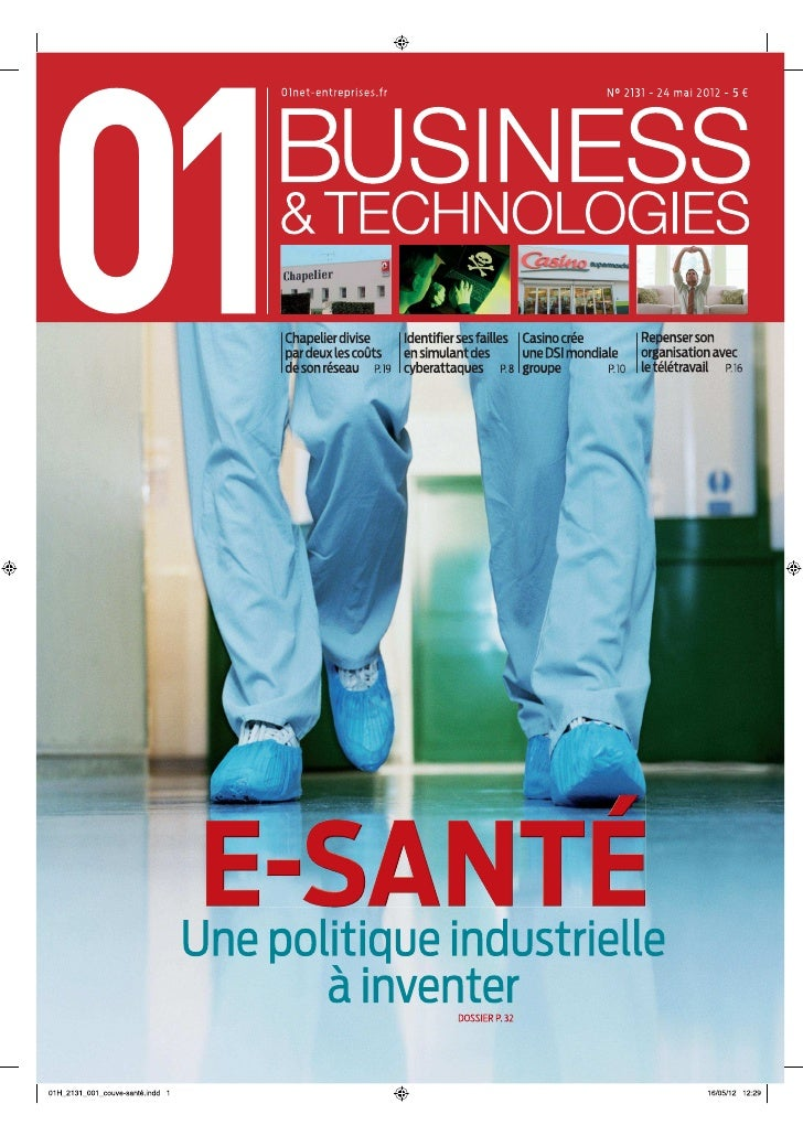 01Business&Technologies n°2131 - Spécial e-Santé