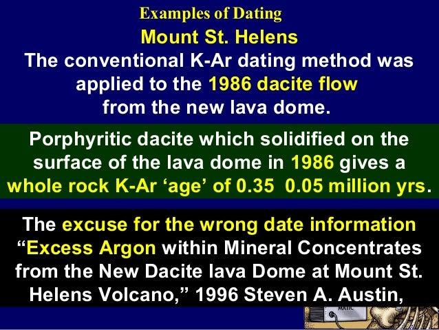 Carbon dating false assumptions
