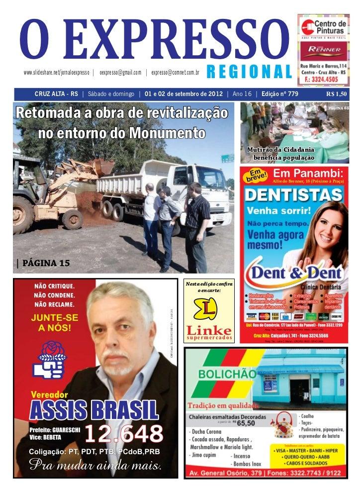o expresso www.slideshare.net/jornaloexpresso   oexpresso@gmail.com   expresso@comnet.com.br                              ...