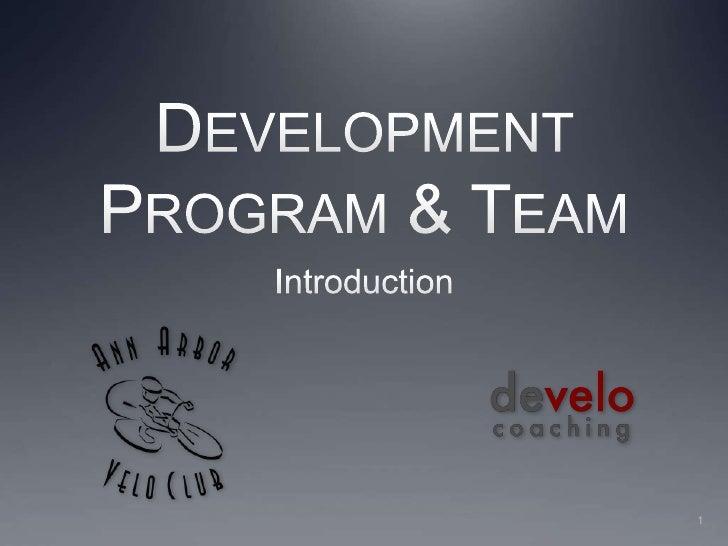 AAVC Development Program Introduction