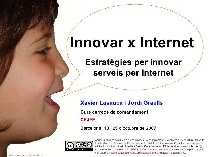Curs 'Innovar x Internet'. Part 1/4. Eines de comunicació