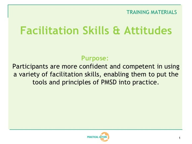 Facilitation Training Materials - Slides