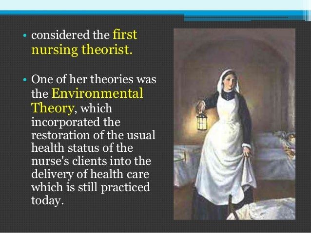 florence nightingale theory case study