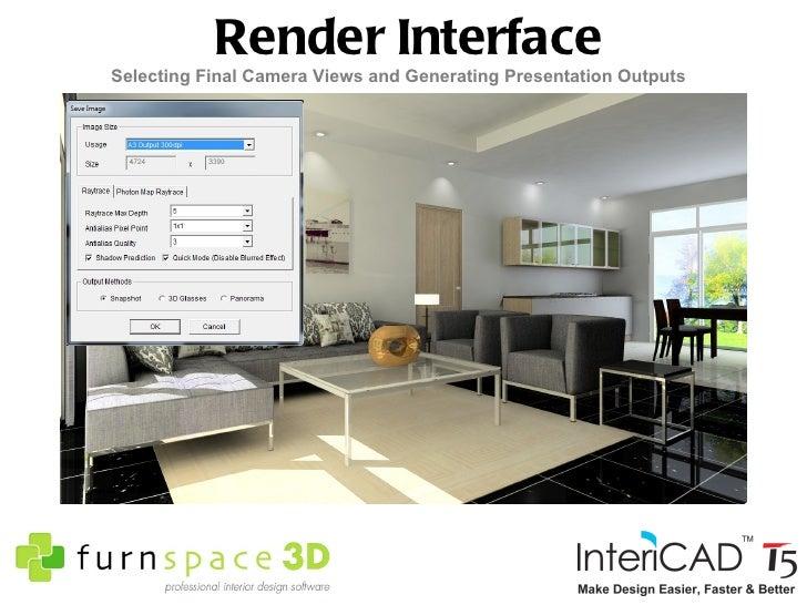 Furnspace 3D Intericad T5 Interior Design Software