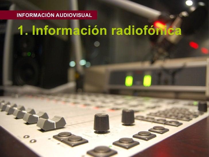 01 Informacion Radiofonica