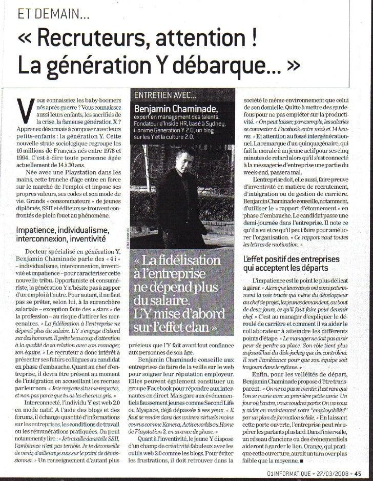 Generation y 01 Informatique
