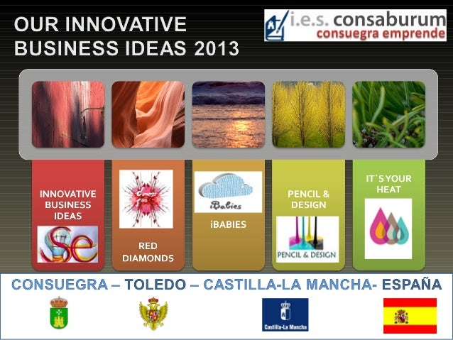 Innovative business ideas 2013