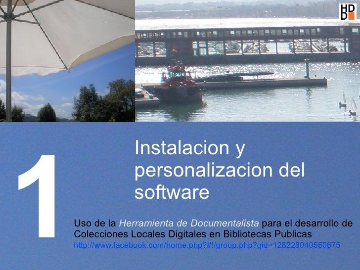 01 instalacion y personalizacion del software