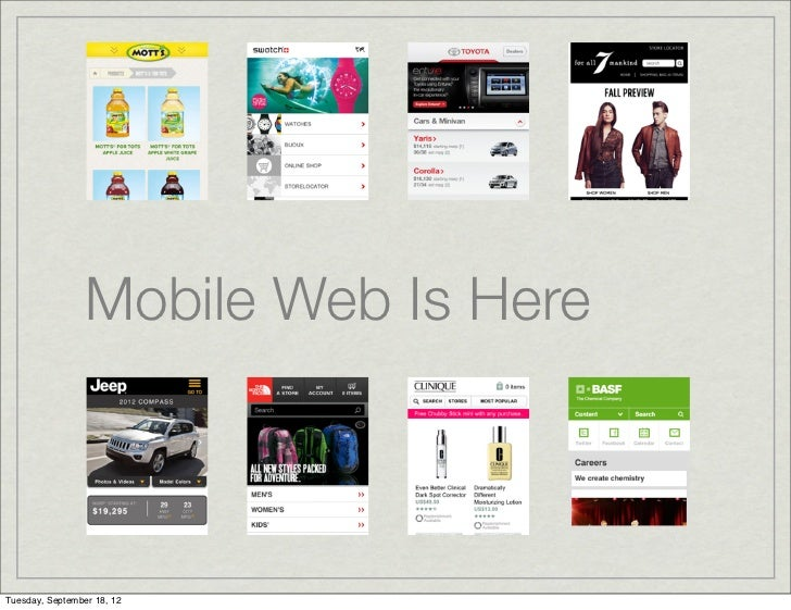 01 Mobile Web Introduction