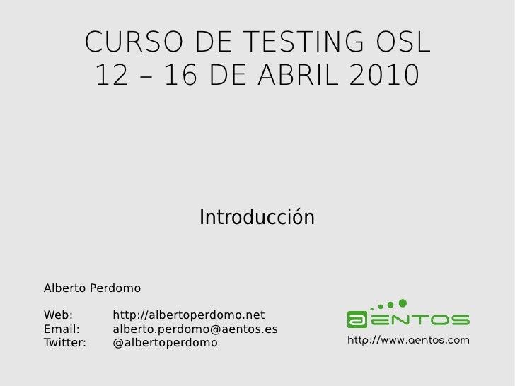 Curso TDD Ruby on Rails #01: Introducción al testing