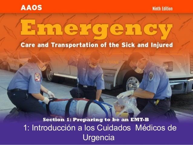 1: Introducción a los Cuidados Médicos de Urgencia