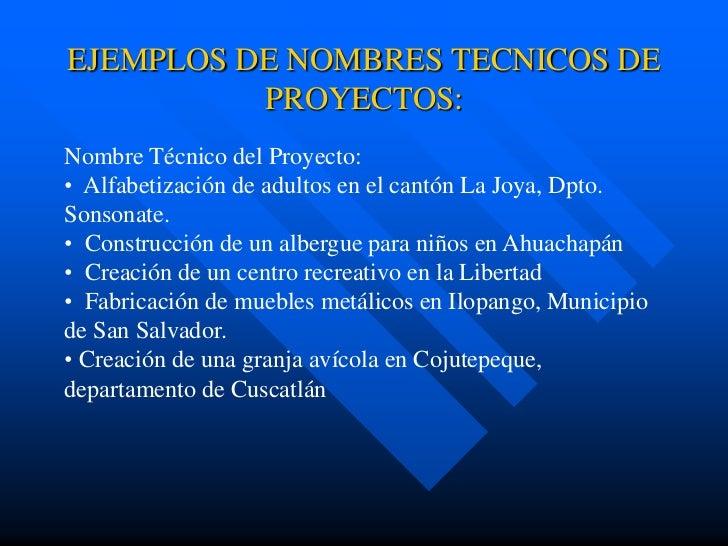 01 introduccion teoria proyectos for Proyecto tecnico ejemplos