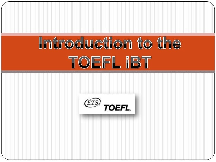 01 introduction to toefl test