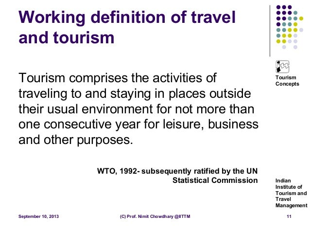 travel and tourism personal statement