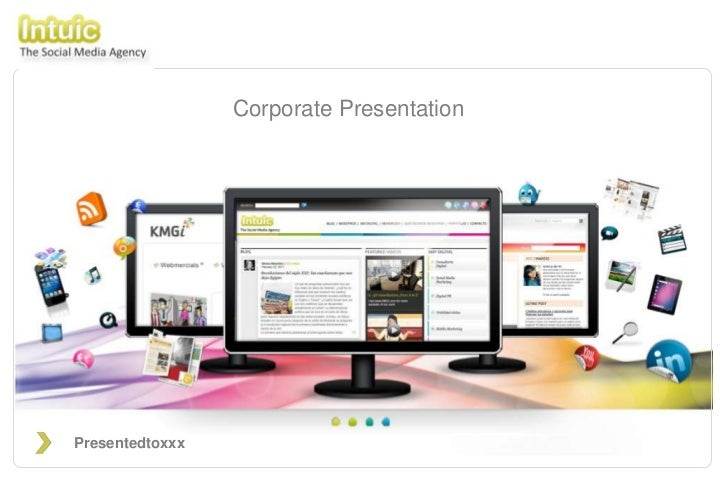 Corporate Presentation - Intuic | The Social Media Agency