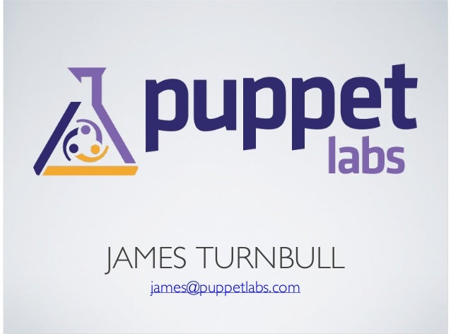 PuppetCamp SEA 1 - The State of Puppet