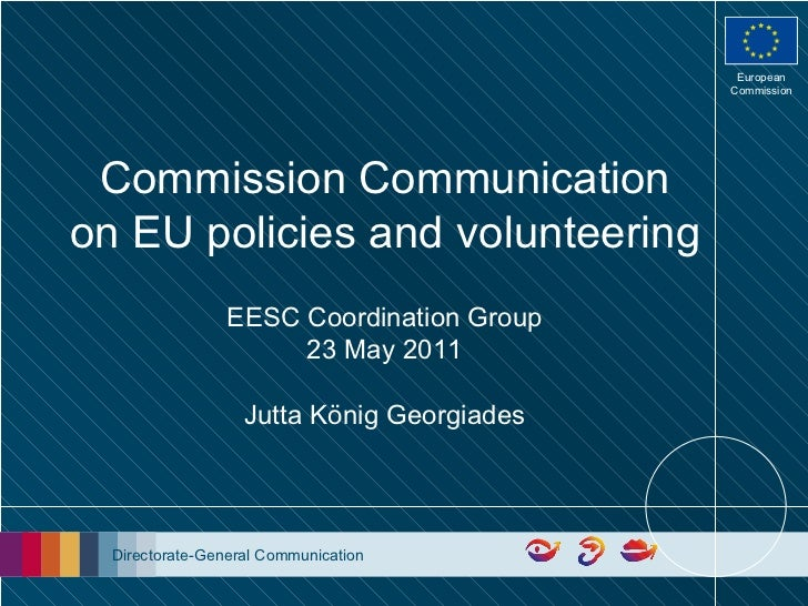 Commission Communication on EU policies and volunteering