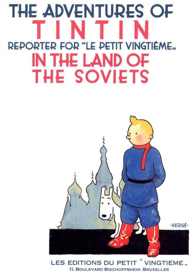 Adventure Tintin 'land of the soviets' (1929)