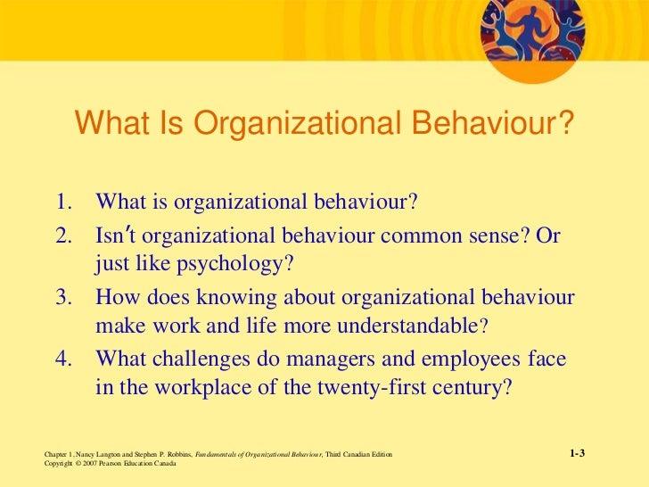 organizational behaviour 4 essay