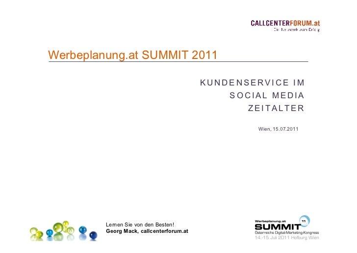 15.07.2011 T15 Dialog 3.0 Georg Mack, callcenterforum.at