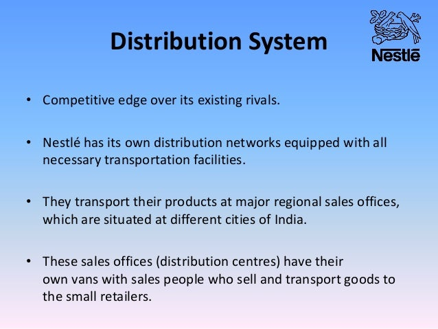 Sales Distribution System Distribution System