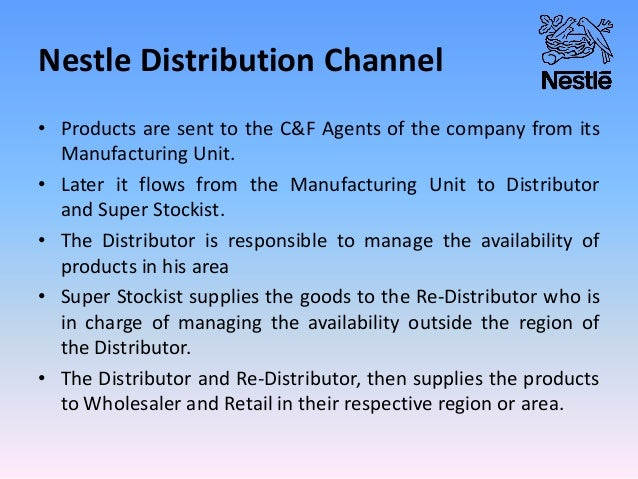 nestle distribution Nestle health science nespresso the nestlé companies are equal opportunity and affirmative action employers and are looking for diversity in qualified candidates for employment: minority/female/disabled/protected veteran.