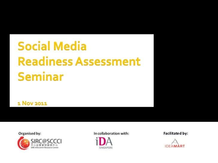 Social Media Readiness Assessment Seminar
