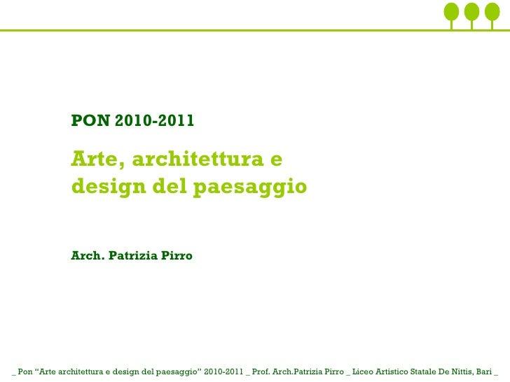 01 il concetto di paesaggio for Concetto di design moderno bungalow