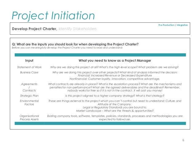 Project charter pmbok template 3399625 - hitori49.info