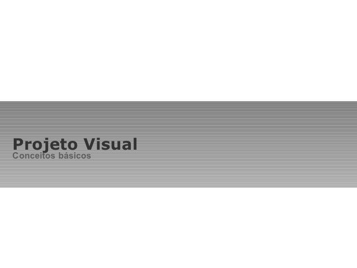 Projeto visual