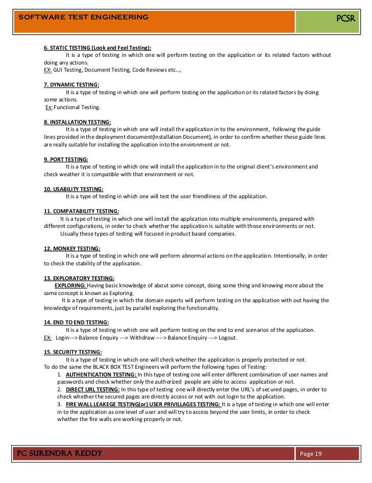 01 software test engineering manual testing 01 software