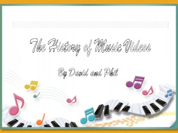 01 The History of Music Videos