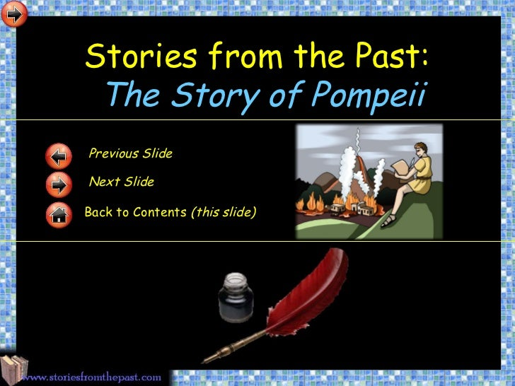 The story of pompeii