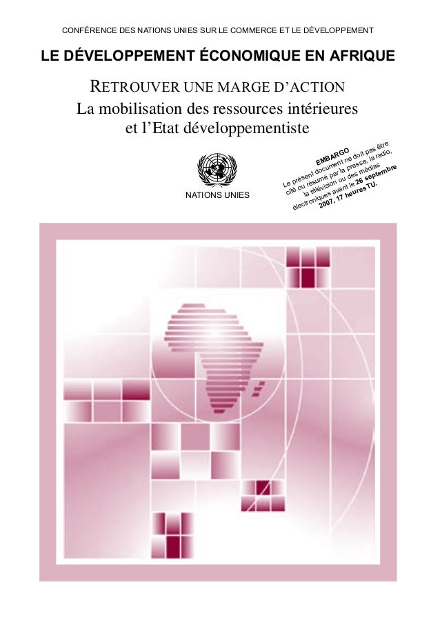 Printed at United Nations, Geneva GE.07-51204–August 2007–2,415 UNCTAD/ALDC/AFRICA/2007 United Nations publication Sales N...