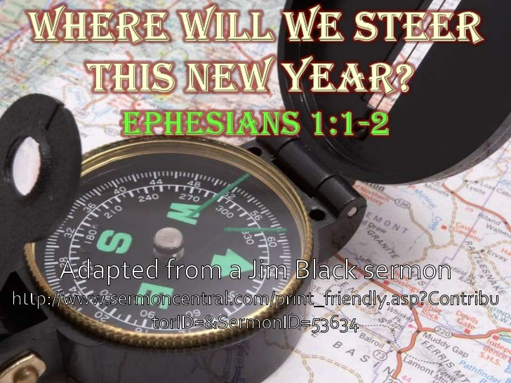 01 Where Will We Steer This New Year?