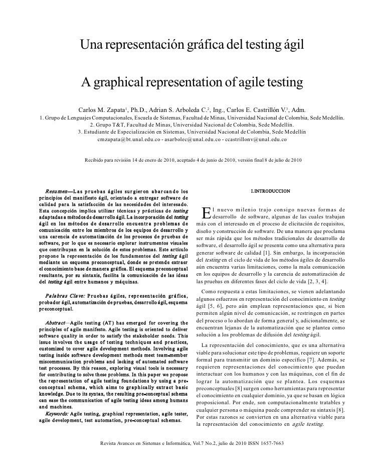 Unarepresentacióngráficadeltestingágil                       Agraphicalrepresentationofagiletesting           ...