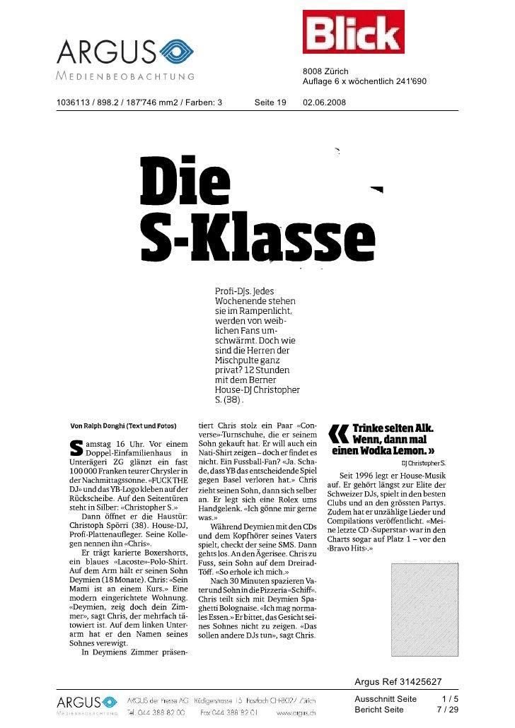 8008 Zürich                                                                                Auflage 6 x wöchentlich 241'690...