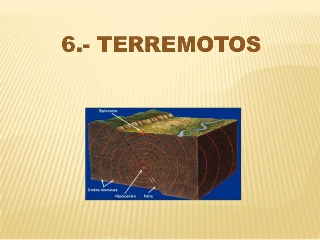 6.- TERREMOTOS