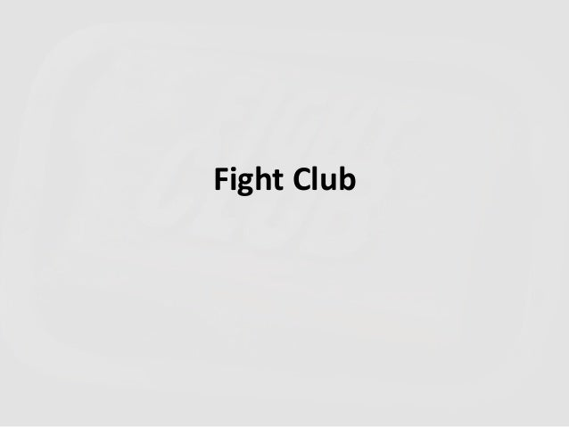 02.Fight Club - The 8 critical approaches