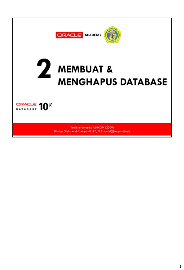 02. membuat database