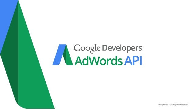 Shopping Campaigns and AdWords API