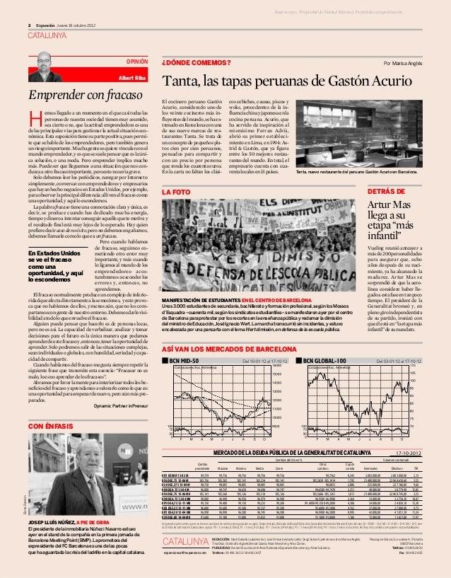 2a columna en Expansión Catalunya - El Fracaso