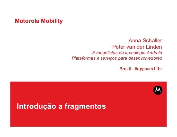Motorola Mobility                                              Anna Schaller                                       Peter v...