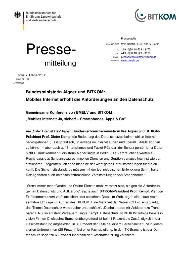 Pressestelle                                                                                  Wilhelmstraße 54, 10117 Berl...