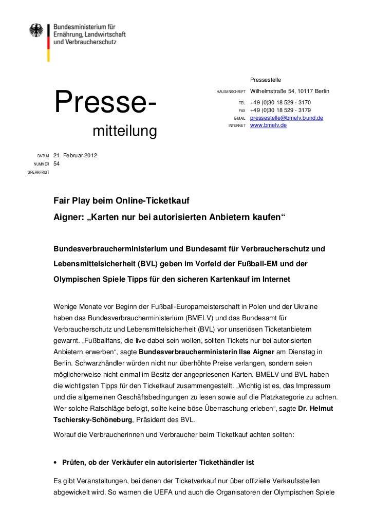 Pressestelle             Presse-                                                                    HAUSANSCHRIFT   Wilhel...
