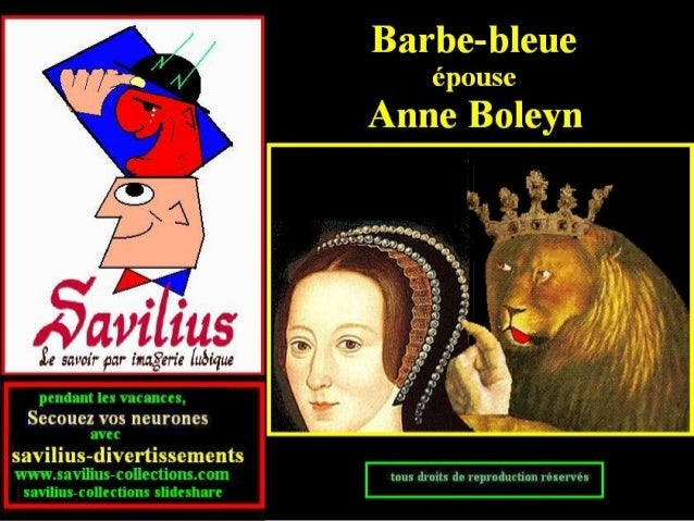 Anne Boleyn et Barbe bleue