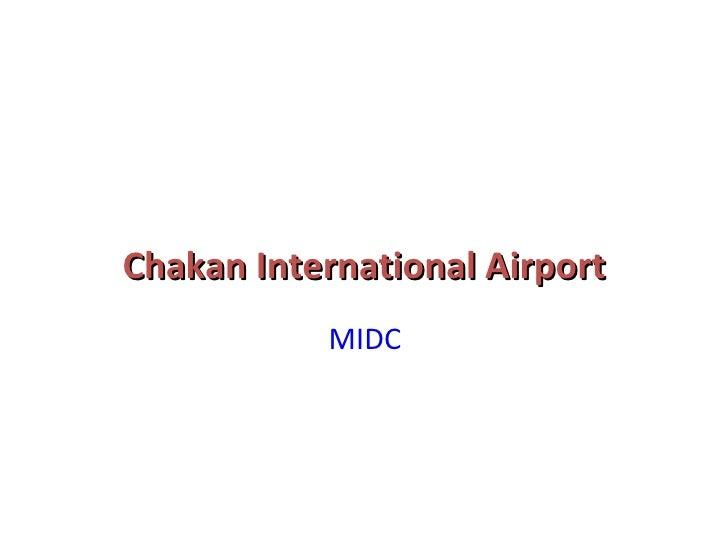 02. Chakan International Airport