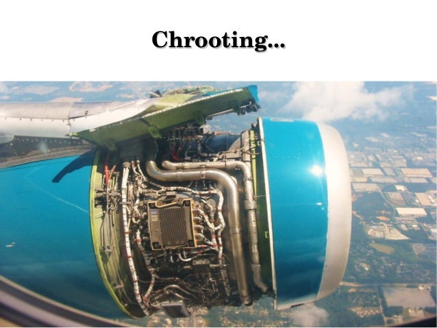 Chrooting...