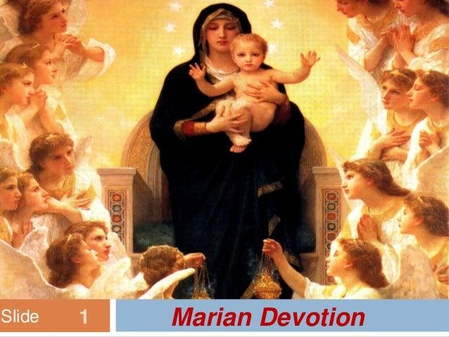 Slide   1   Marian Devotion