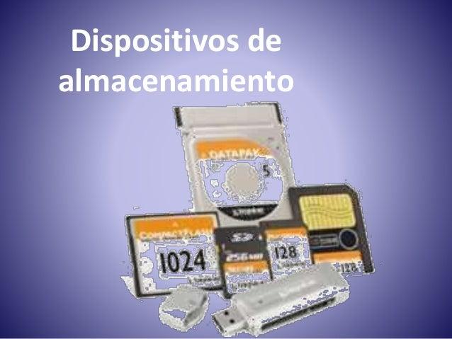 02.Dispositivos De Almacenamiento